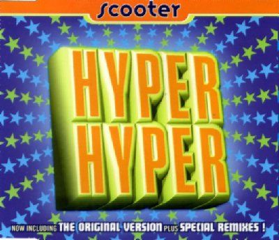 Scooter Hyper Hyper album cover