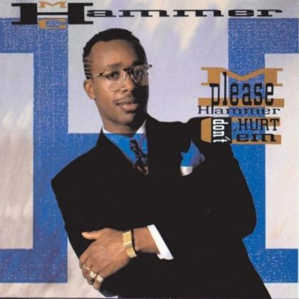 MC Hammer U Can't Touch This album cover