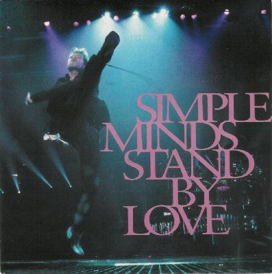 Simple Minds Stand By Love album cover