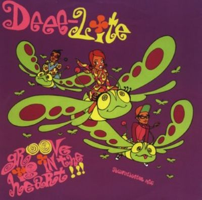 Deee-Lite Groove Is In The Heart album cover