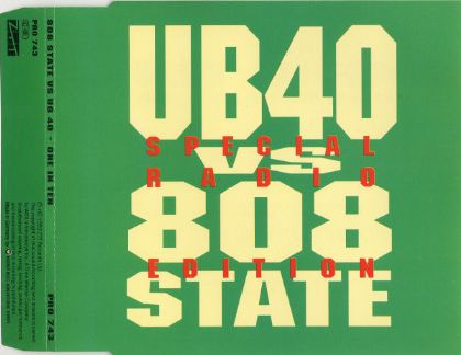 UB40 & 808 State One In Ten album cover