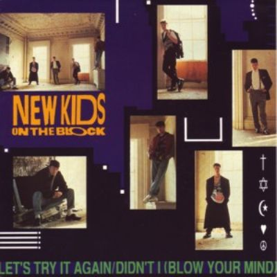 New Kids On The Block Let's Try It Again album cover