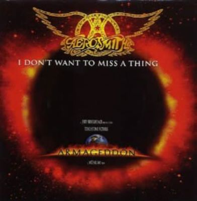 Aerosmith I Don't Want To Miss A Thing album cover