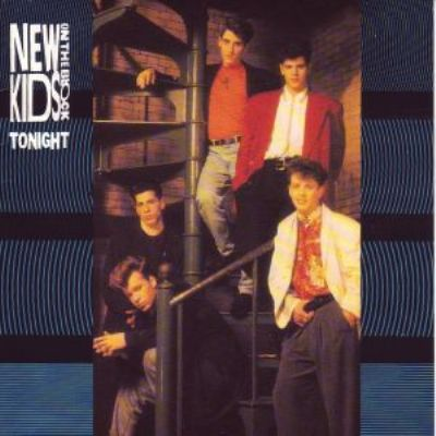New Kids On The Block Tonight album cover