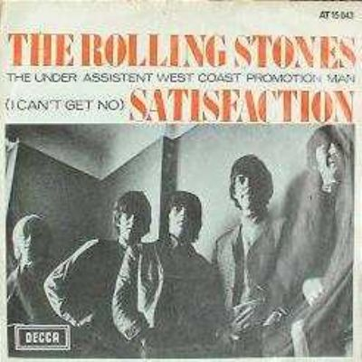 Rolling Stones (I Can't Get No) Satisfaction album cover