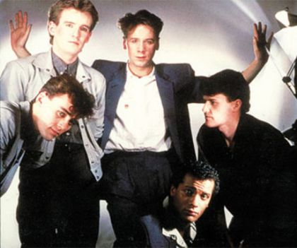 Simple Minds Sign O' the Times album cover