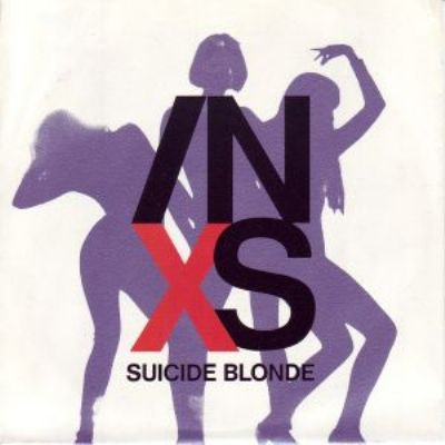 Inxs Suicide Blonde album cover