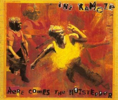Ini Kamoze Here Comes The Hotstepper album cover