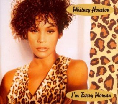 Whitney Houston I'm Every Woman album cover