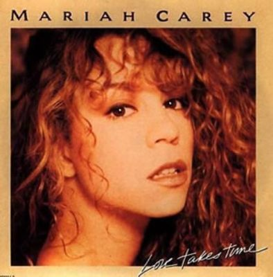 Mariah Carey Love Takes Time album cover