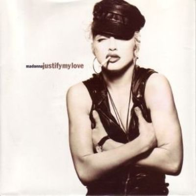 Madonna Justify My Love album cover