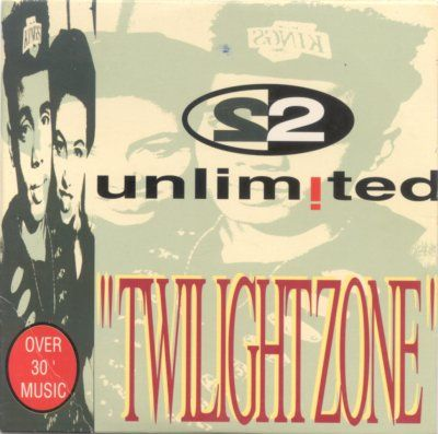2 Unlimited Twilight Zone album cover