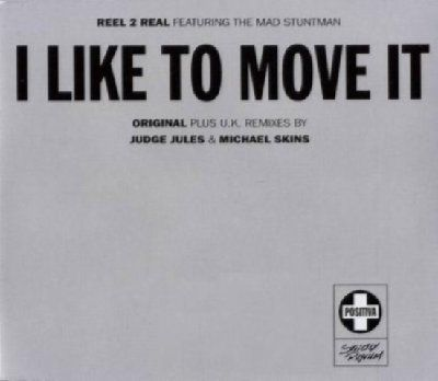 Reel 2 Real & Mad Stuntman I Like To Move It album cover