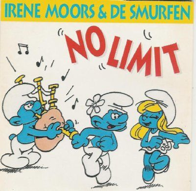 Smurfen & Irene Moors No Limit album cover