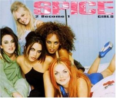 Spice Girls 2 Become 1 album cover