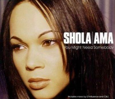 Shola Ama You Might Need Somebody album cover