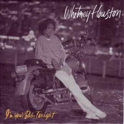 Whitney Houston I'm Your Baby Tonight album cover