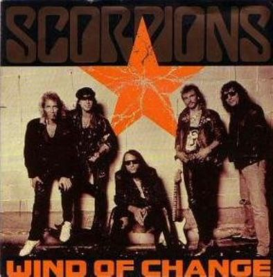 Scorpions Wind Of Change album cover