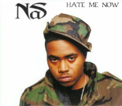 Nas Hate Me Now album cover
