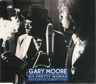 Gary Moore & Albert King Oh Pretty Woman album cover