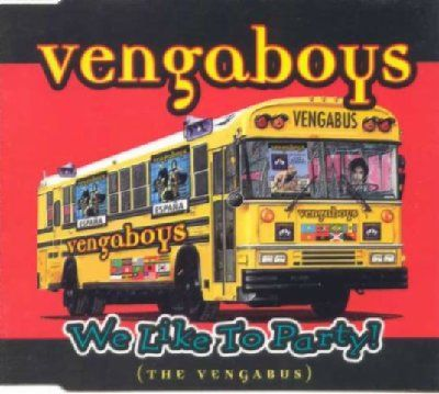 Vengaboys We Like To Party album cover