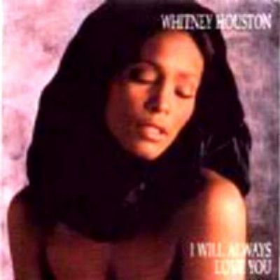 Whitney Houston I Will Always Love You album cover