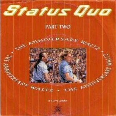 Status Quo Anniversary Waltz Part 2 album cover