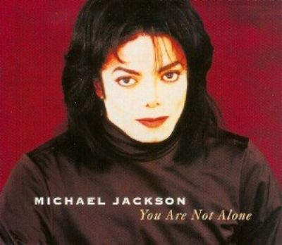 Michael Jackson You Are Not Alone album cover