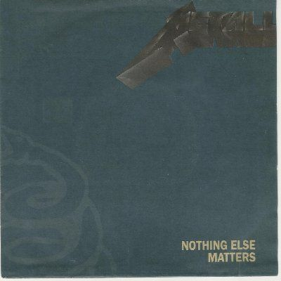 Metallica Nothing Else Matters album cover