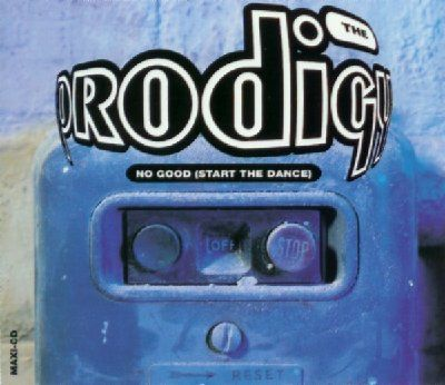 Prodigy No Good (Start The Dance) album cover