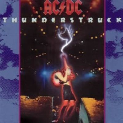 AC/DC Thunderstruck album cover