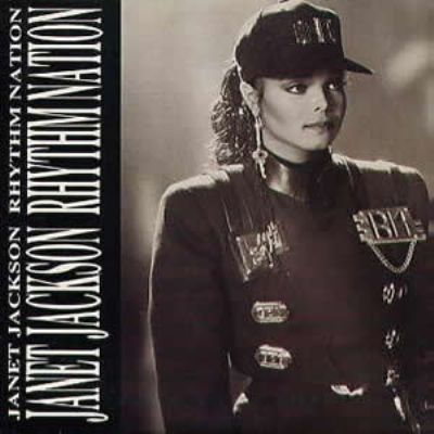 Janet Jackson Rhythm Nation album cover