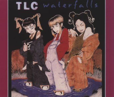 TLC Waterfalls album cover