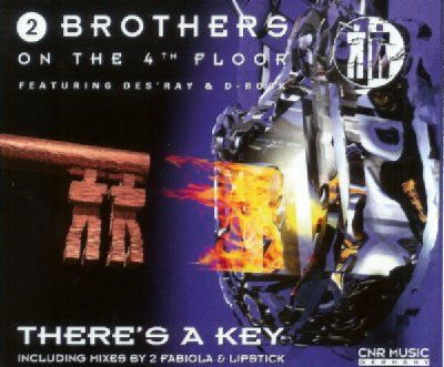 2 Brothers On The 4th Floor There's A Key album cover