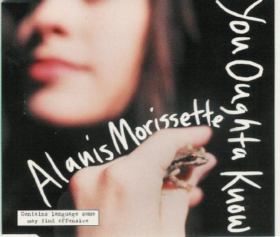 Alanis Morissette You Oughta Know album cover