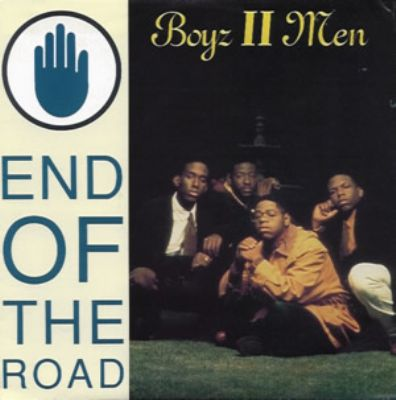 Boyz II Men End Of The Road album cover