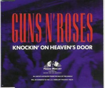 Guns N' Roses Knockin' On Heaven's Door album cover