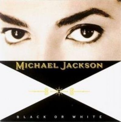 Michael Jackson Black Or White album cover