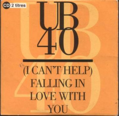 UB40 Can't Help Falling In Love With You album cover