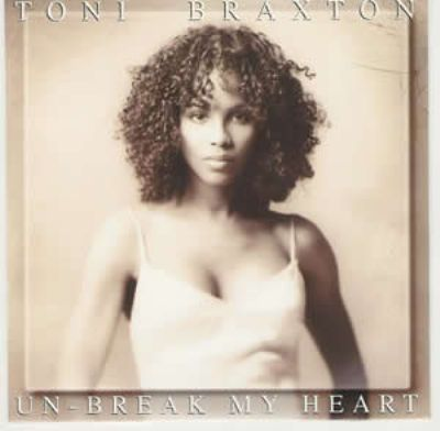Toni Braxton Unbreak My Heart album cover